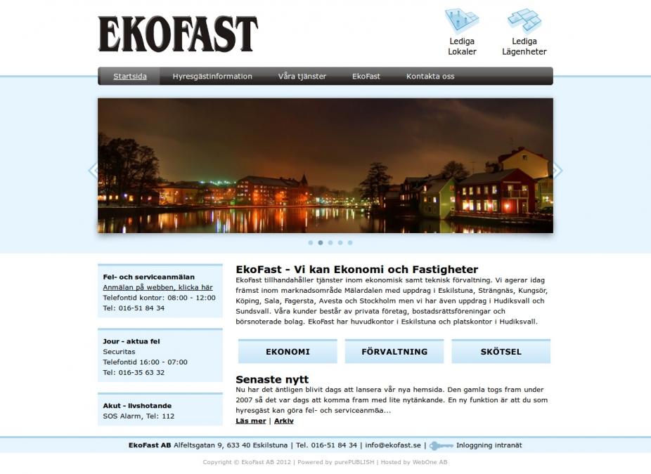 Hemsida EkoFast AB