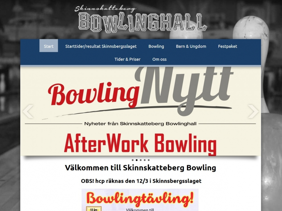 skinnskatteberg bowlinghall